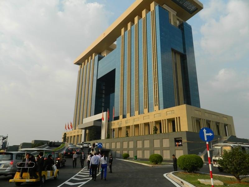 Trung tâm hành chính hiện đại nhất nước đi vào hoạt động 4