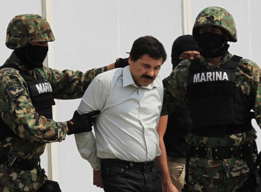 Trùm ma tuý lớn nhất thế giới Joaquin Guzman bị bắt giữ 5