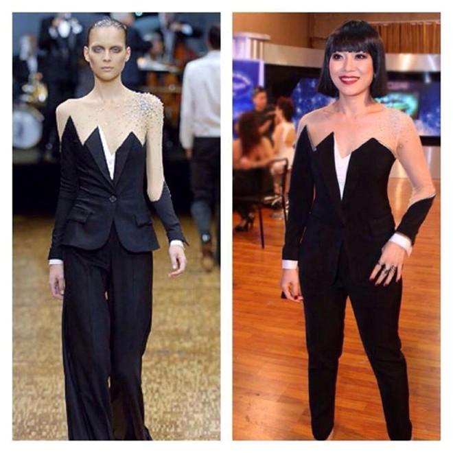 Mỹ Tâm bị nghi ngờ diện trang phục nhái ở Vietnam Idol  7
