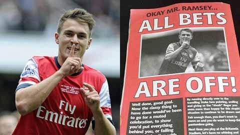 CĐV Stoke City đe dọa sẽ đánh gãy giò Ramsey 5