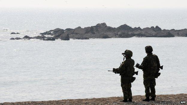 Hàn Quốc tố tàu tuần tra Triều Tiên xâm phạm vùng biển đang tranh chấp 4