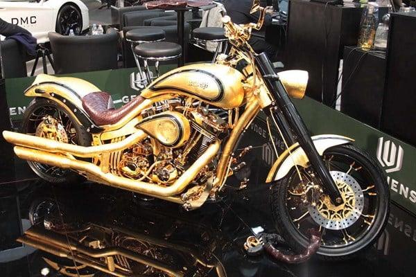 Choáng váng motor làm bằng vàng và đá quý giá gần 18 tỷ 14