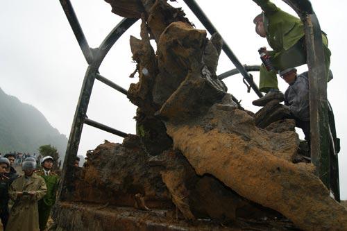 Lộ diện khối gỗ sưa nặng 3 tấn, trị giá hàng chục tỷ đồng 6