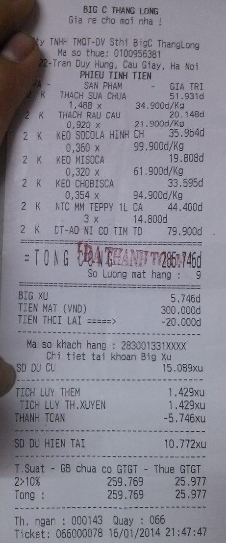 Big C mất lòng người tiêu dùng vì bê bối thực phẩm 8