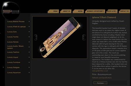 Sốc: iPhone 5 nạm kim cương giá 350 tỷ đồng 7