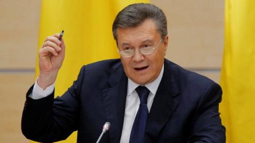Cựu Tổng thống Ukraine xuất hiện trước công chúng tại Nga 5