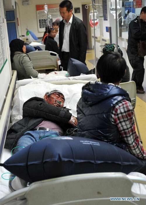 Hiện trường vụ thảm sát đẫm máu, khiến 33 người chết ở Trung Quốc 7