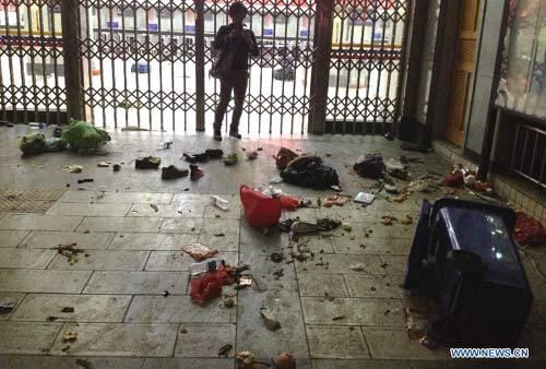 Hiện trường vụ thảm sát đẫm máu, khiến 33 người chết ở Trung Quốc 6