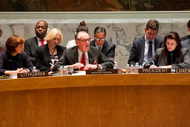 Hội đồng Bảo an Liên Hiệp Quốc họp khẩn về Ukraina 5