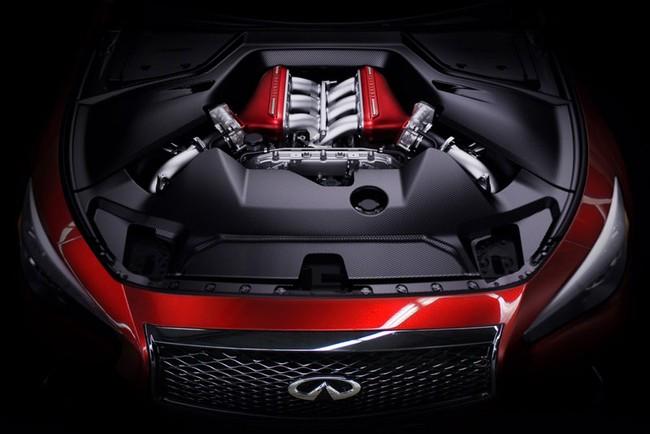 Geneva Motor Show 2014 : Infiniti Q50 Eau Rouge - Siêu xe đội lốt xe sang 6