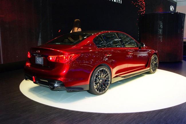 Geneva Motor Show 2014 : Infiniti Q50 Eau Rouge - Siêu xe đội lốt xe sang 8