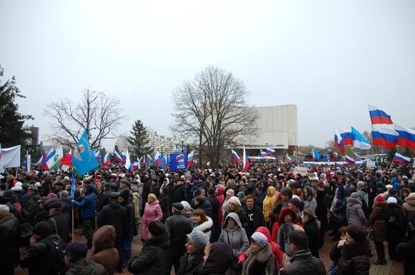 Xem dân Nga tràn xuống đường biểu tình ủng hộ Ukraine 8