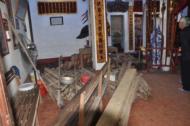 Chuyện lạ ở Hà Nội: Dỡ đình cổ lấy gỗ sưa đem bán 5