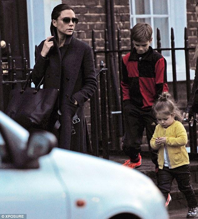Con gái út nhà David Beckham ngày càng đáng yêu 8