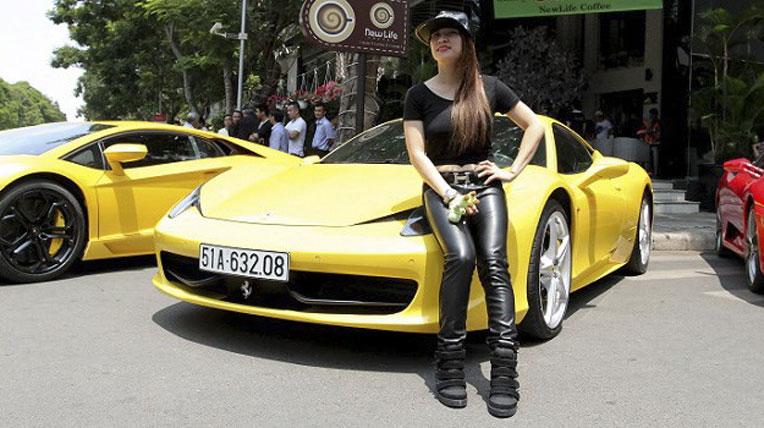 Hotgirl 8x Sài Gòn chơi siêu xe số một Sài Thành 6