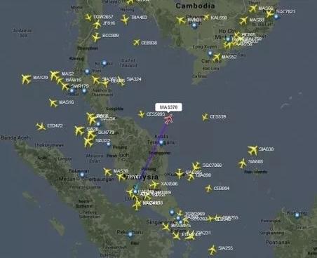 Máy bay Malaysia mất tích: Cuộc tìm kiếm khổng lồ tại vùng biển Việt Nam 4