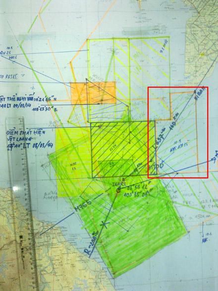 Máy bay mất tích: Xuất hiện nhiều mảnh vỡ cách Vũng Tàu 60 km 5