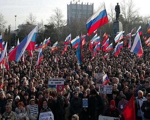 Báo Nga: Chiến tranh tại Crimea có thể xảy ra trước 16/3 6