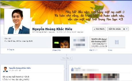 Thầy giáo hotboy Khắc Hiếu đóng cửa Facebook triệu lượt like 5