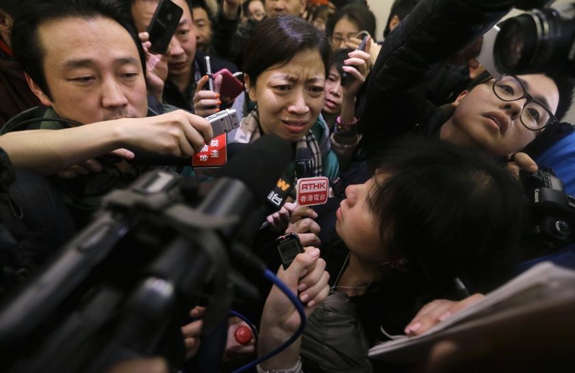 Hình ảnh Máy bay mất tích MH370: Gia đình hành khách nóng lòng tìm đến Malaysia số 1