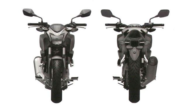 Lại đến lượt Honda lộ hàng nakedbike mới 6