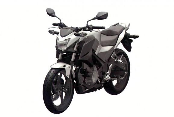 Lại đến lượt Honda lộ hàng nakedbike mới 5
