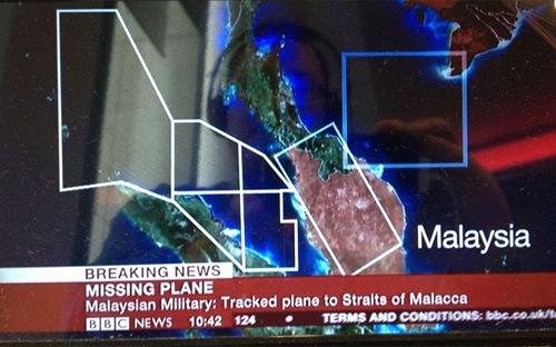 Hình ảnh Malaysia phát hiện máy bay mất tích ở eo biển Malacca? số 2