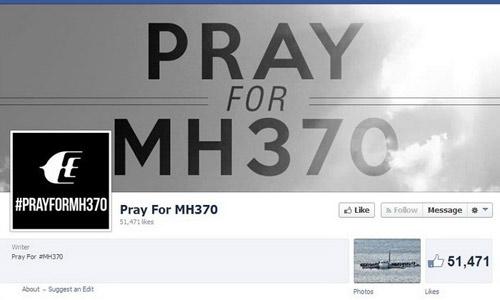 Hình ảnh Máy bay mất tích: Cả thế giới đang cầu nguyện cho điều kỳ diệu số 13