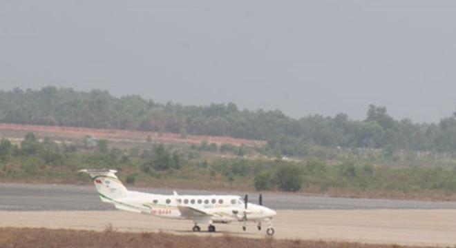 Máy bay của bầu Đức tham gia tìm kiếm máy bay mất tích? 5