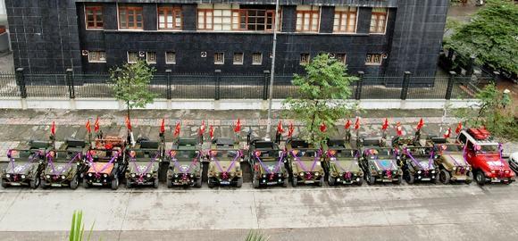 Độc: Đám cưới ở Quảng Ninh rước dâu bằng một dàn xe Jeep 16