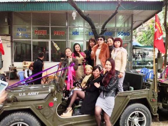 Độc: Đám cưới ở Quảng Ninh rước dâu bằng một dàn xe Jeep 18