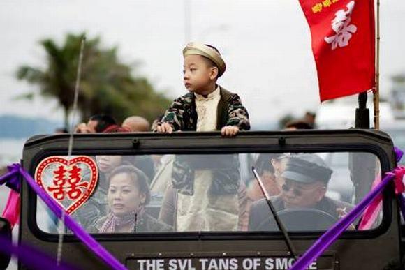 Độc: Đám cưới ở Quảng Ninh rước dâu bằng một dàn xe Jeep 7