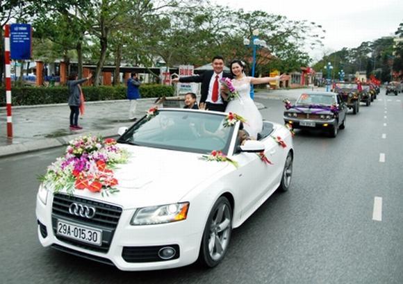 Độc: Đám cưới ở Quảng Ninh rước dâu bằng một dàn xe Jeep 9