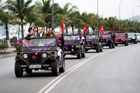 Độc: Đám cưới ở Quảng Ninh rước dâu bằng một dàn xe Jeep 11