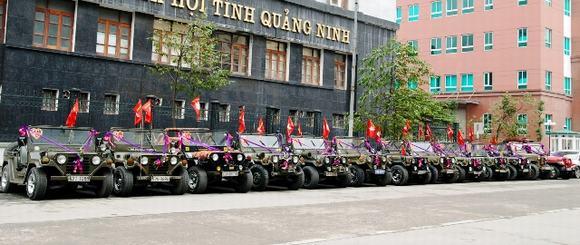 Độc: Đám cưới ở Quảng Ninh rước dâu bằng một dàn xe Jeep 13