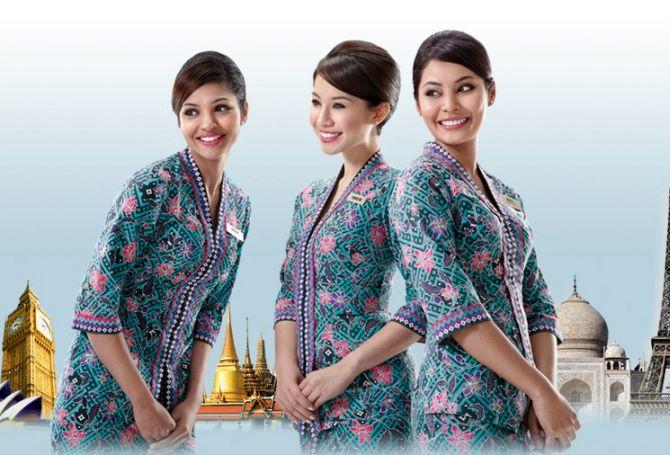 Hình ảnh Cận cảnh các nữ tiếp viên xinh đẹp của Malaysia Airlines số 1