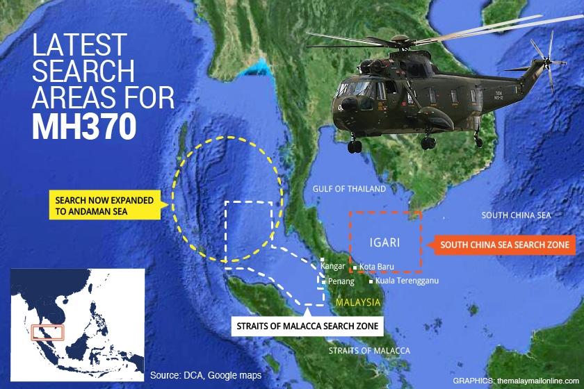 Chuyên gia Hàng không: Phi công MH370 có thể đã bị khổng chế 7