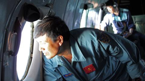 Nhân chứng ở Việt Nam nhìn thấy máy bay Malaysia cháy rơi xuống biển 5