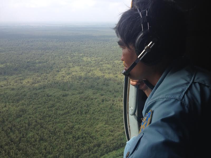 Tìm kiếm máy bay mất tích ở rừng U Minh 4