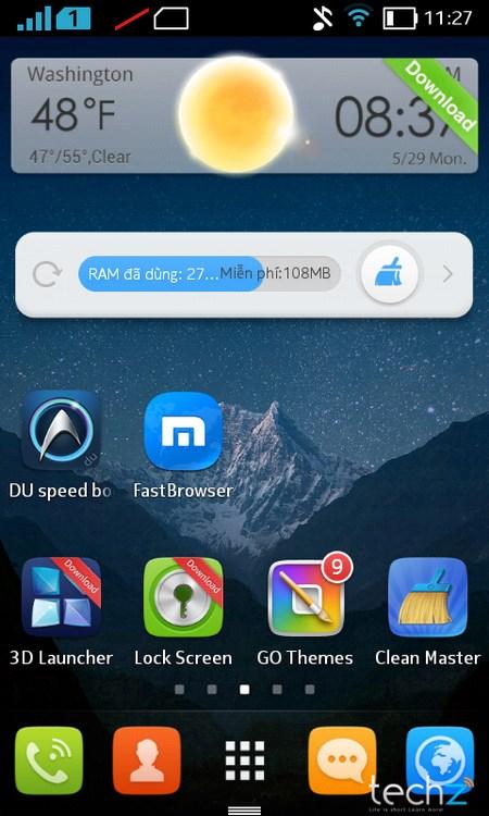Thử nghiệm hiệu năng Nokia X  9