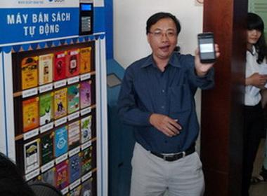 Máy bán sách tự động như… bán nước ngọt 5