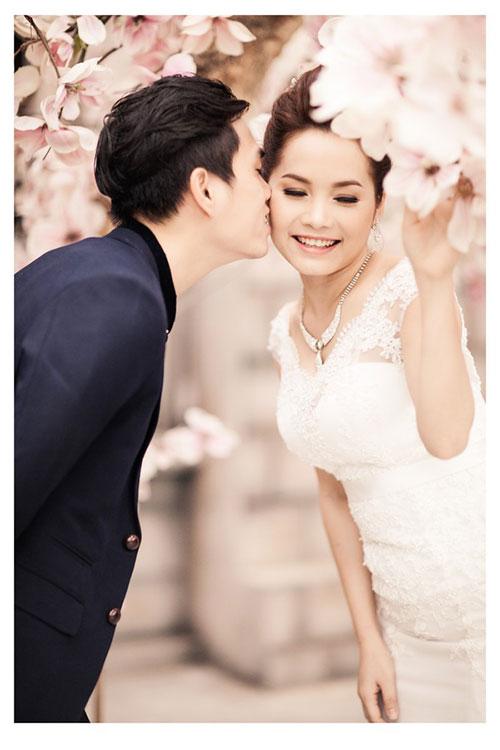 Đoàn Thúy Trang khoe ảnh cưới lãng mạn 9