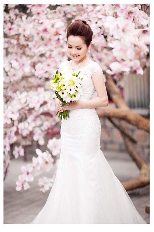 Đoàn Thúy Trang khoe ảnh cưới lãng mạn 6