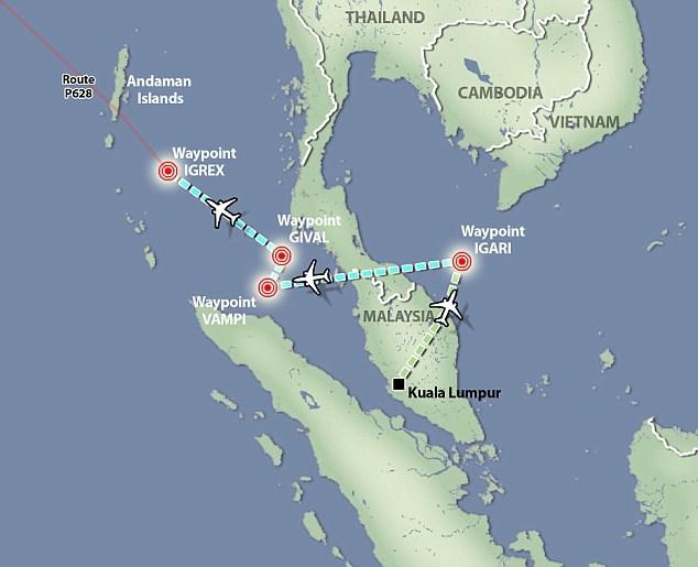 Malaysia tiết lộ vành đai bay của MH370 sau khi mất tích 7