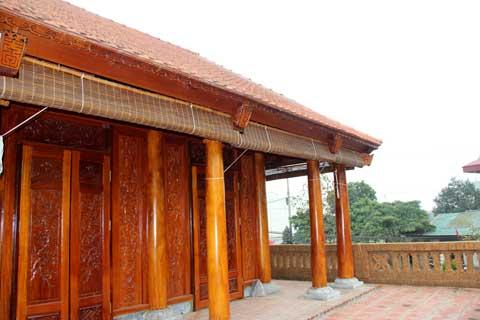 Hình ảnh Nhà độc gỗ mít: Đại gia kiềng nể lão nông Hà Nội số 2