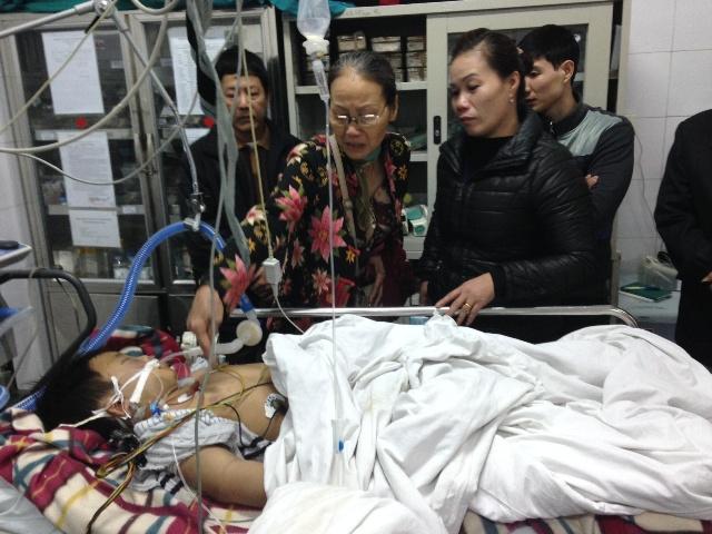 Cháu bé bị bố đánh chấn thương sọ não khó qua khỏi 4