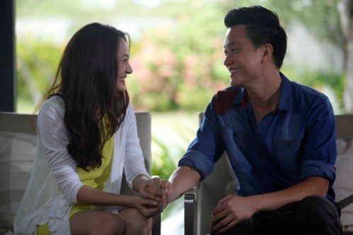 Hình ảnh Vừa đi vừa khóc tập 1: Lương Mạnh Hải, Bảo Anh diễn xuất mờ nhạt số 1