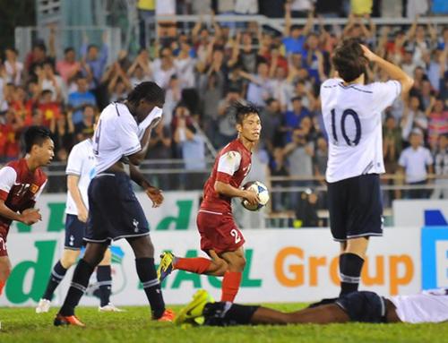 U19 Việt Nam tổng lực tái đấu U19 Tottenham 1