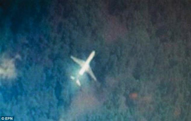 Sinh viên ĐH Đài Loan phát hiện hình ảnh máy bay nghi là MH370 6