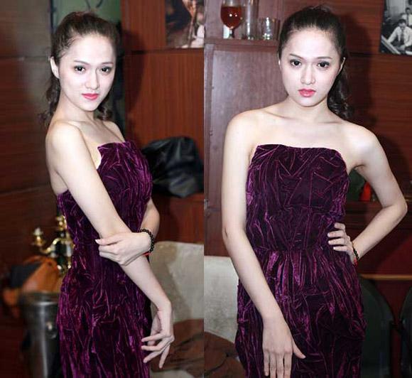 Chọn váy tôn nét nữ tính như Hương Giang Idol 16